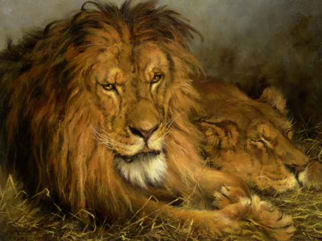 Vastagh_A_Lion_and_a_Lioness